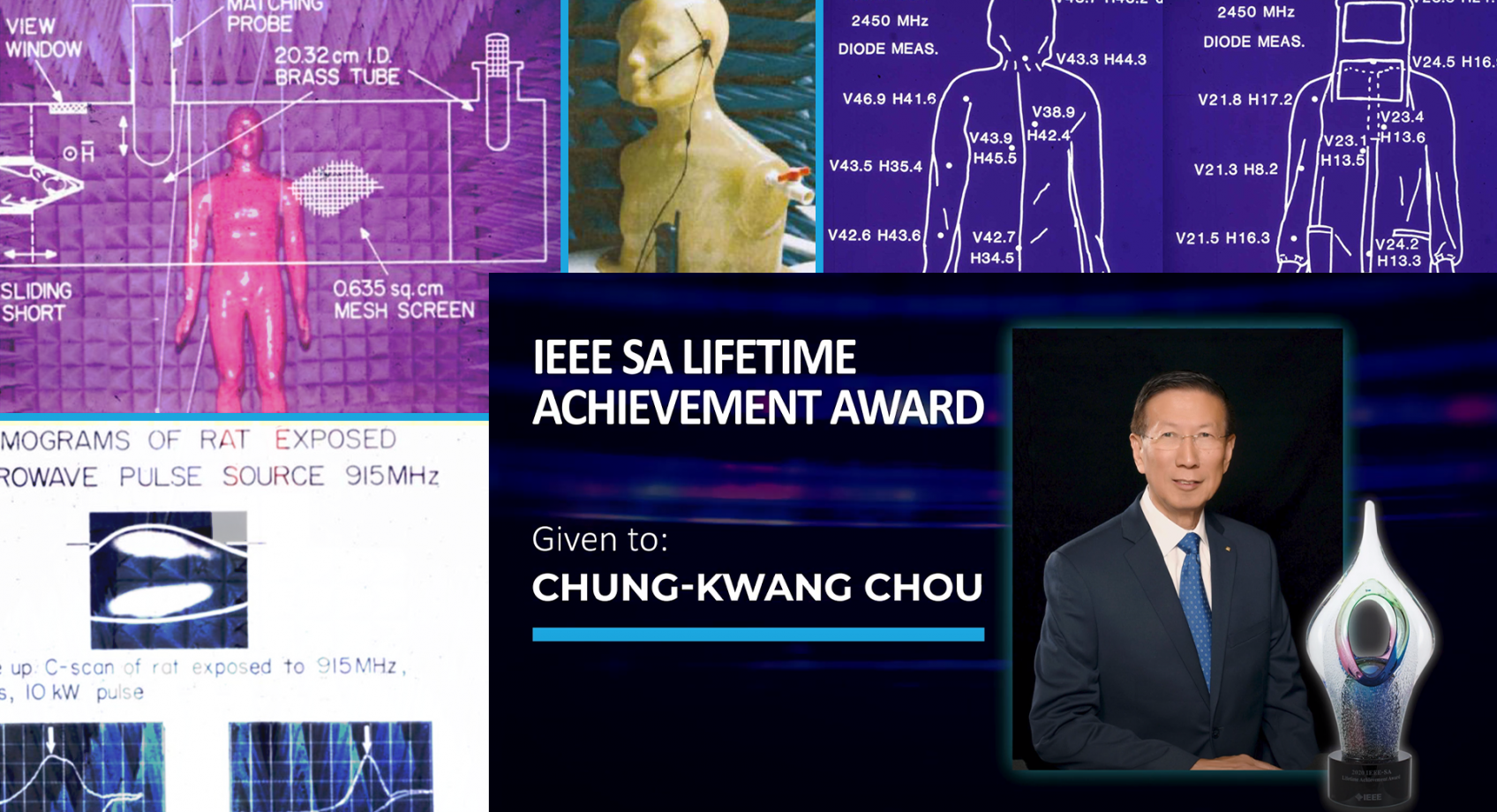 "Pioneering Safety: UW ECE alum Chung-Kwang ""C-K."" Chou receives IEEE Standards Association Lifetime Achievement Award Banner"