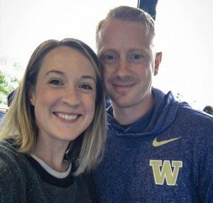 Cody Brereton and his fiancé, Samantha