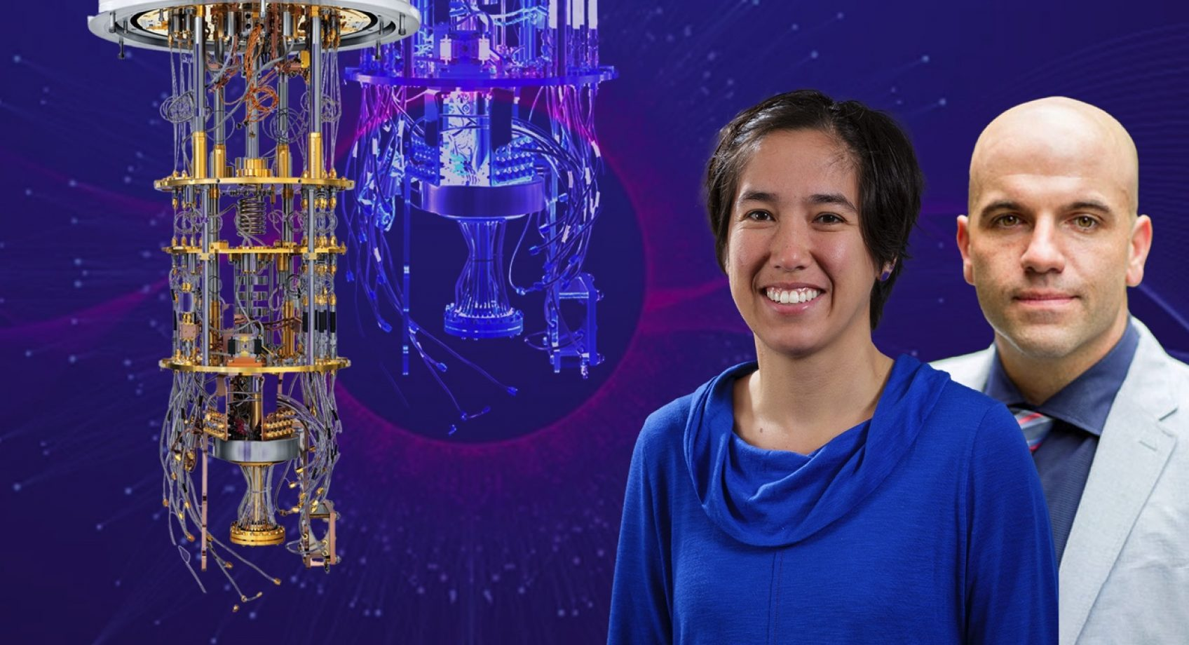 Quantum Leap - in quantum computing, UW scientists see the building blocks of the next technological revolution Banner