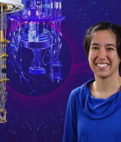 Quantum Leap - in quantum computing, UW scientists see the building blocks of the next technological revolution Thumbnail