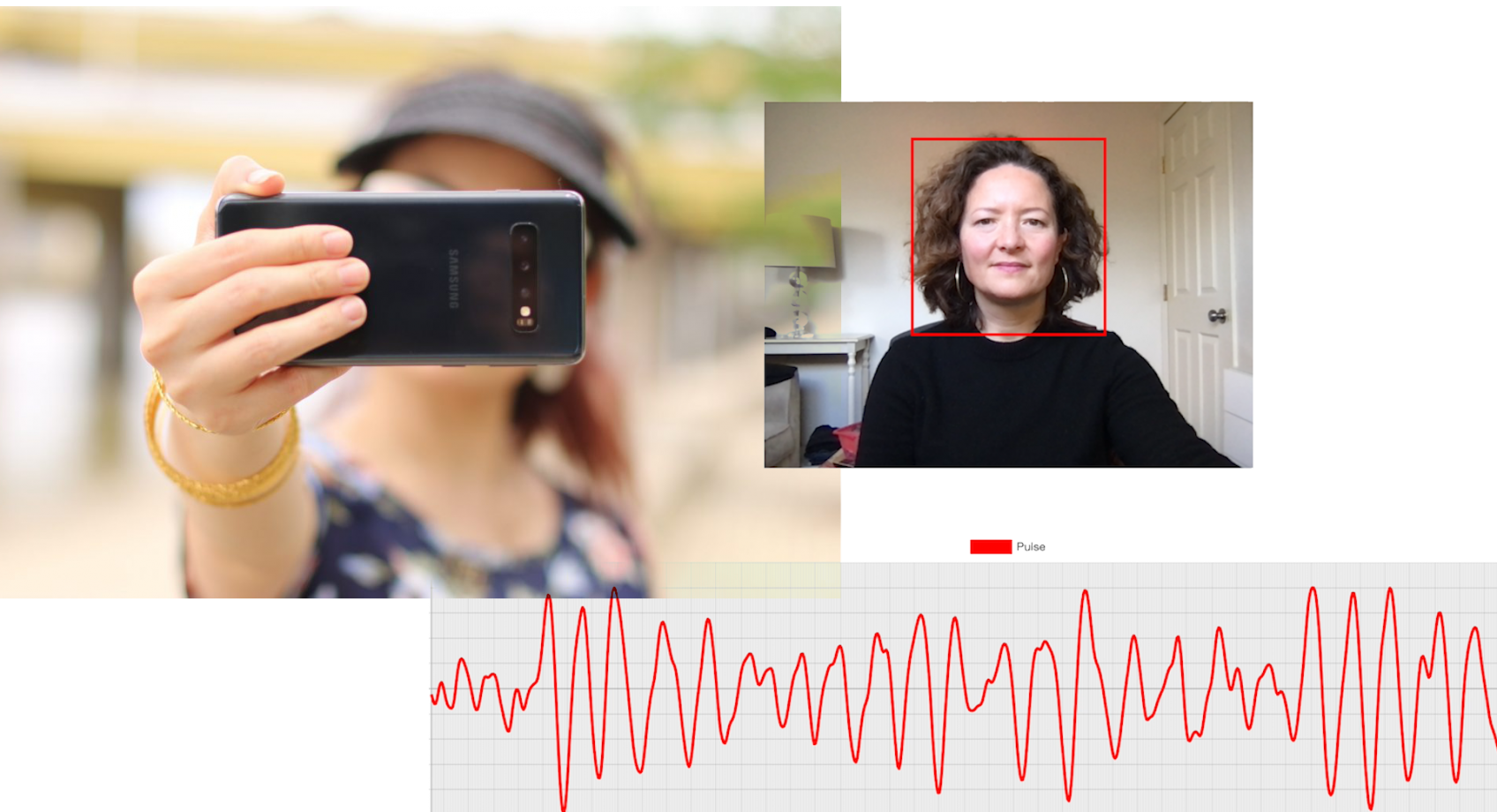 New system that uses smartphone or computer cameras to measure pulse, respiration rate could help future personalized telehealth appointments Banner