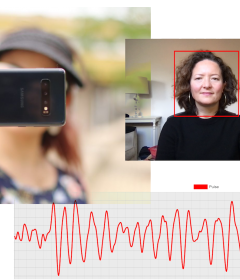New system that uses smartphone or computer cameras to measure pulse, respiration rate could help future personalized telehealth appointments