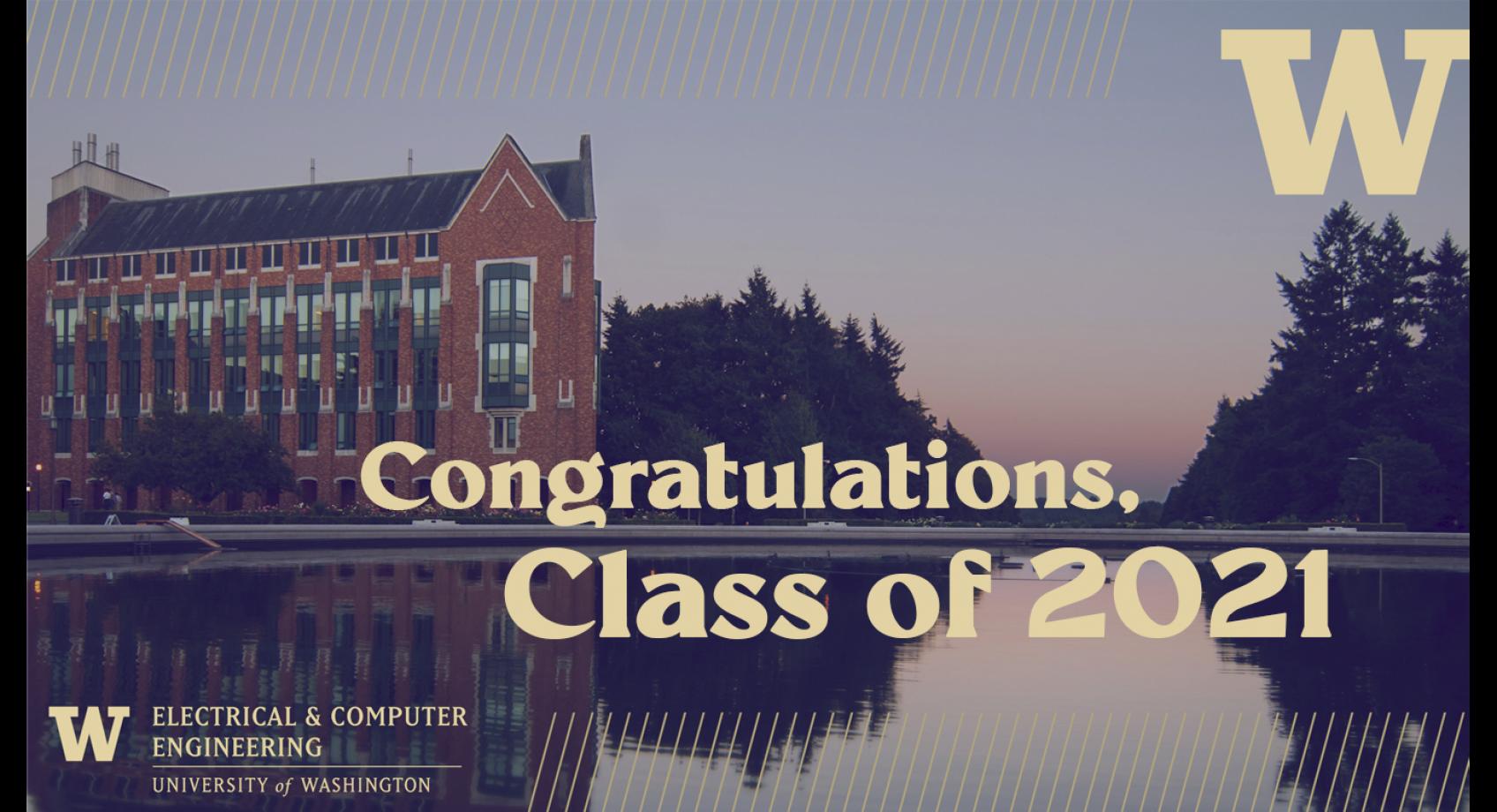 Congratulations, Class of 2021! Banner