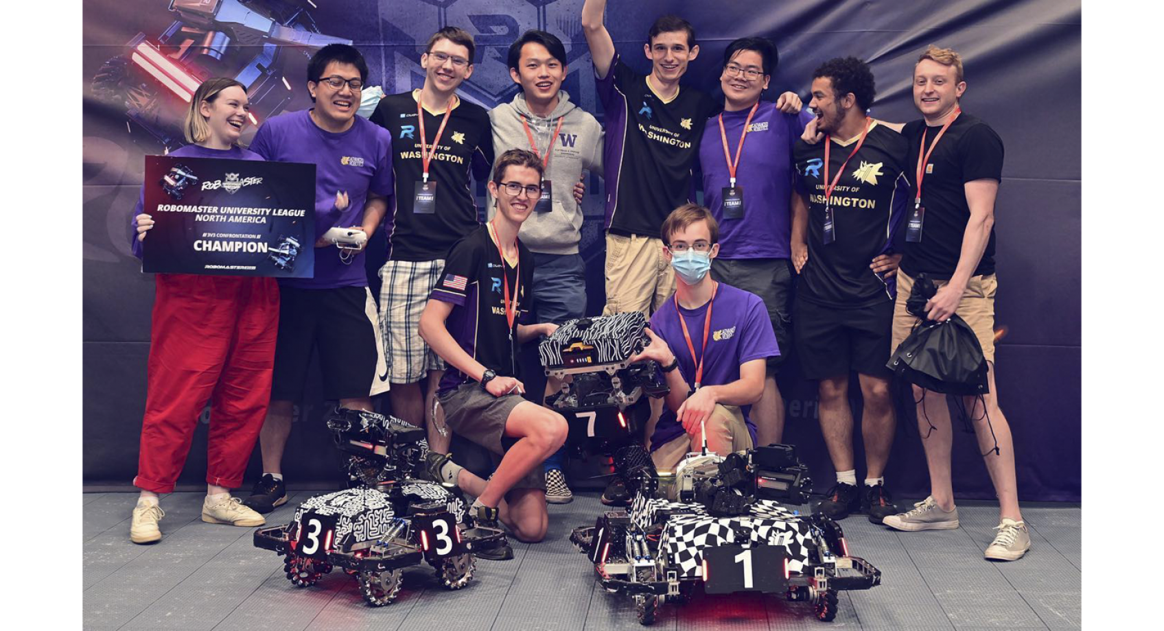 ARUW takes first place in North American RoboMaster University League competition Banner