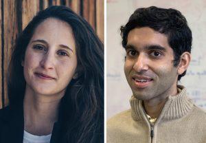 Sara Mouradian and Rahul Trivedi headshots