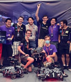 ARUW takes first place in North American RoboMaster University League competition
