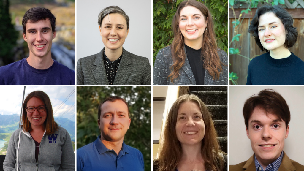 Eight UW graduate students received this year's Distinguished Dissertation and Thesis Awards. Schwock won in the category of Mathematics, Physical Sciences & Engineering for his work on analyzing and predicting ocean ambient noise.