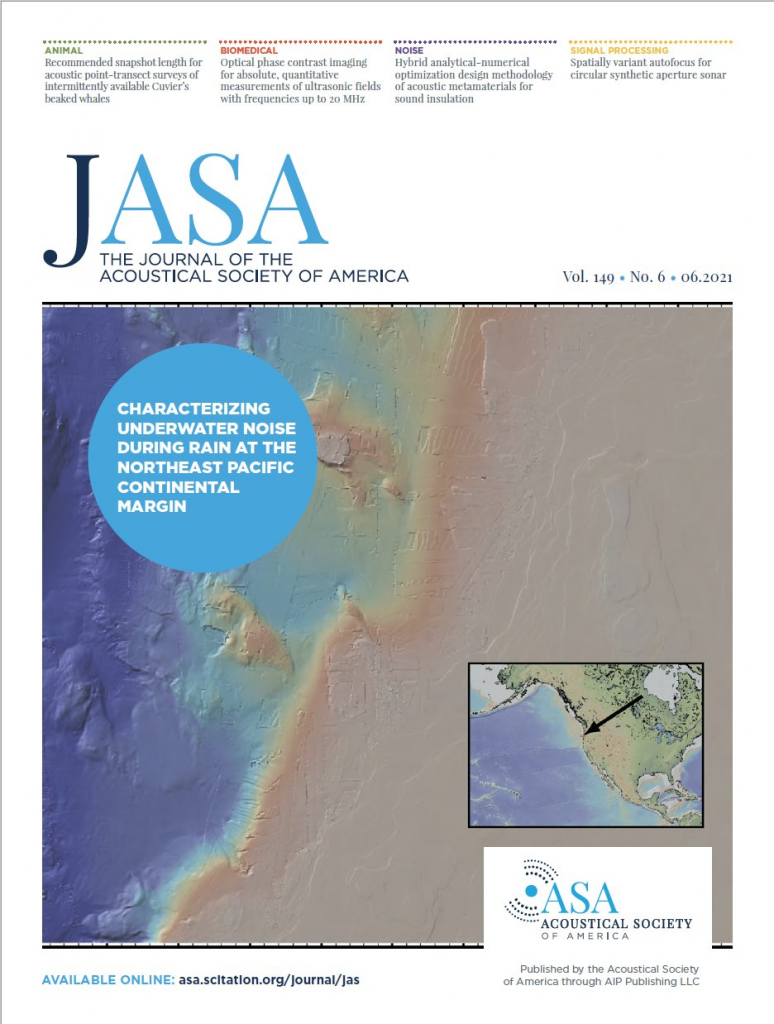 The Journal of the Acoustical Society of America, Vol. 149, June 2021