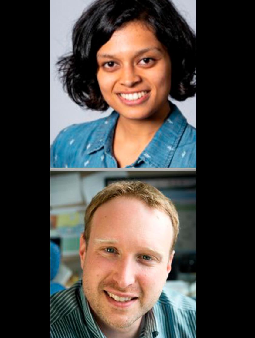 Shruti Misra & Ryan Buckmaster Headshot