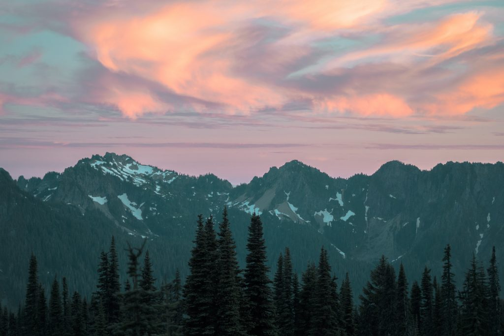 Washington mountain range