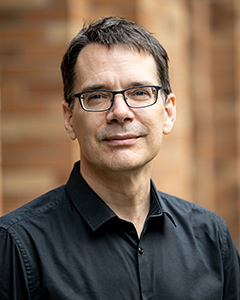 Professor and Chair Eric Klavins